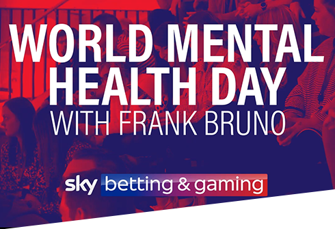 """""""World Mental Health Day with Frank Bruno"""""""